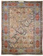 BACHTIAR PALACE CARPET antique.Beige central field