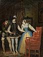 FRANKREICH, 19. JAHRHUNDERTLot von 6 Gemälden: