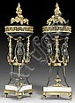 PAIR OF BRULE-PARFUMS, Louis XVI style, signed, Henri Dasson, Click for value
