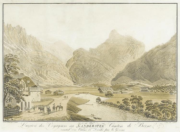 CANTON OF BERN.-Jakob Samuel Weibel (1771-1846).