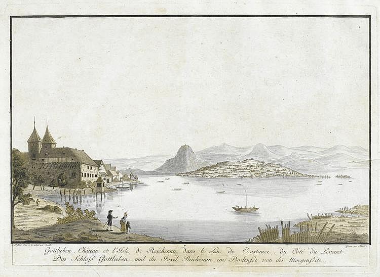 LAKE CONSTANCE.Johann Thomas Hauer (1748-1820)