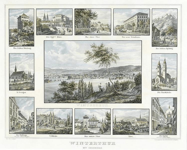 WINTERTHUR.-After Emanuel Labhardt (Steckborn 1810