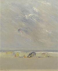 ERGUIN, IGNACIO GARCIA (born in Bilbao 1931) Beach