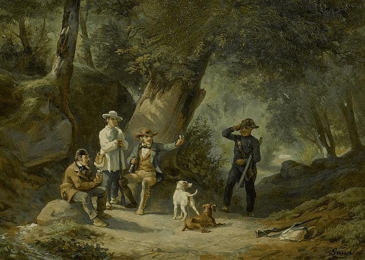 GANDON, ADOLPHE (Antiquités Ségal) (Nîmes 1828 -