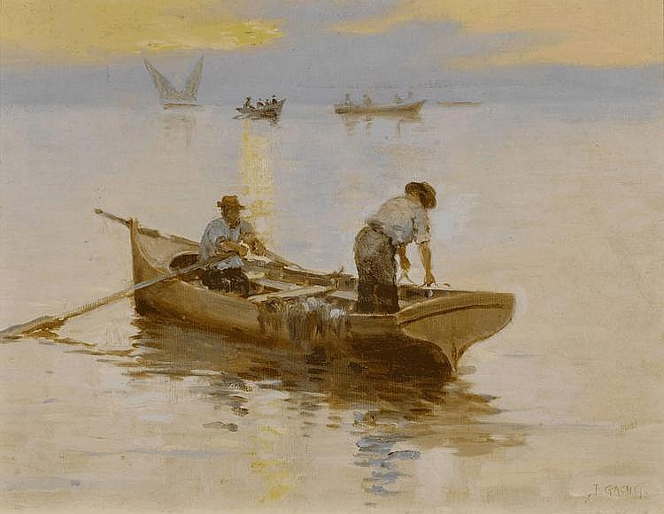 GACHET, JULES (Echallens 1859 - circa 1920 Nyon)