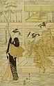 UTAGAWA TOYOKUNI (1769-1825).Oban. Signature: