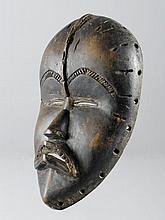 DAN MASKE Côte d'Ivoire. H 22 cm. Provenienz: -