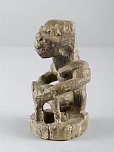 SAPI FIGUR Sierra Leone / Guinea. H 21 cm.