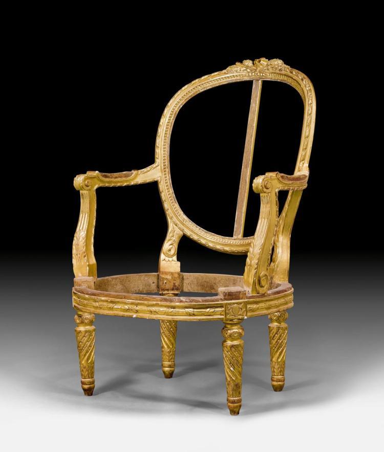 Large fauteuil en demi bergere - Fauteuil bergere moderne ...