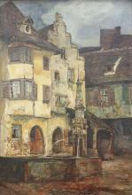 """Frank Louis Behrens """"Märchendorf Egisheim"""""""