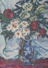 Josef P. Kronenberg (*1890) Blumenstillleben, still life,