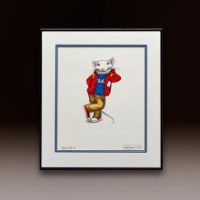 Stuart Little 2 Concept Drawing - Playing It Cool 2