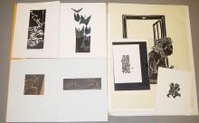 Sammlungsnachlass Detlef Willand, 22 signierte Graphiken & Vorzugsausgabe Das Gelbe Buch m. 6 signierten Holzschnitten Für Selbstbesichtiger!
