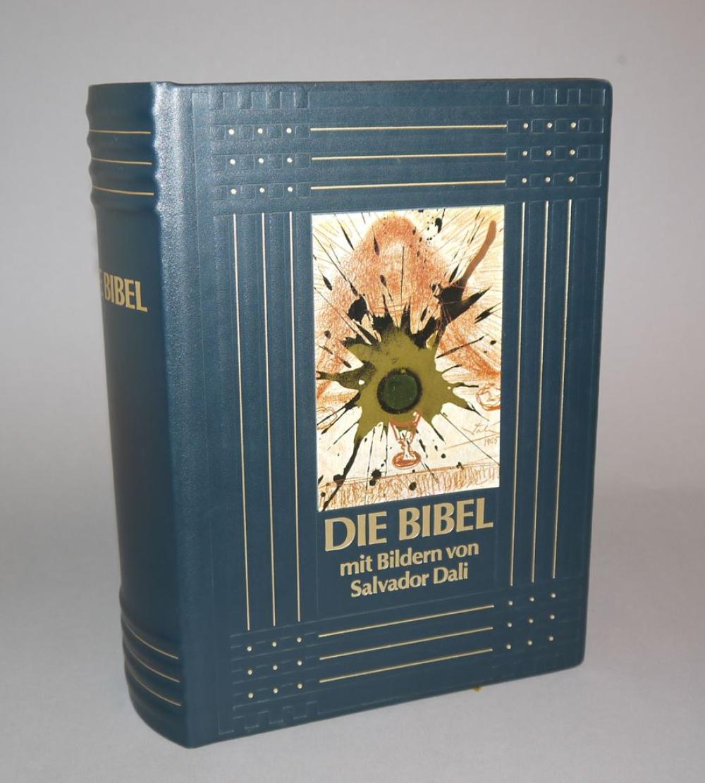 """Salvador Dalí , """"Die Bibel"""", limitierte, nummerierte Ausgabe im Bestzustand, mit Zertifikat"""