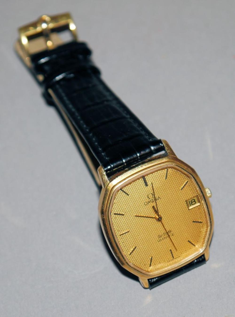 Armbanduhr Omega DeVille Quartz