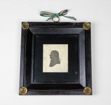 19th C. French Silhouette of a man