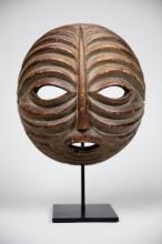 Mask, Baluba, Gabon, West Africa
