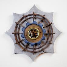 CRISTOBAL MORALES, One Off Mirror with Found Objects