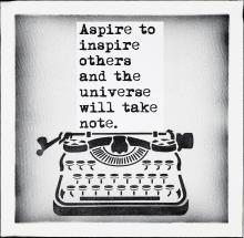 WRDSMTH ASPIRE TO INSPIRE 2018