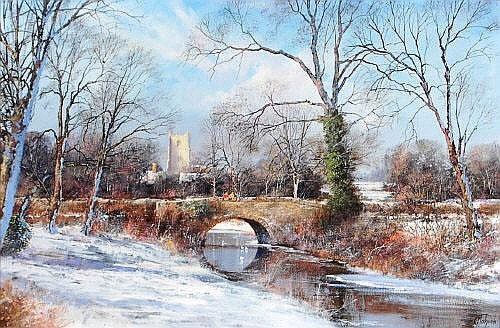 Clive Madgwick (1934-2005) - Suffolk winter