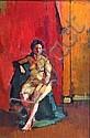 Michael Salaman (1911-1991)-Female nude, full, Michael Salaman, Click for value
