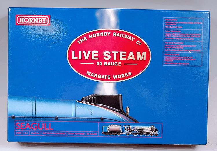 Hornby, Live Steam 'Seagull' A4 locomotive and
