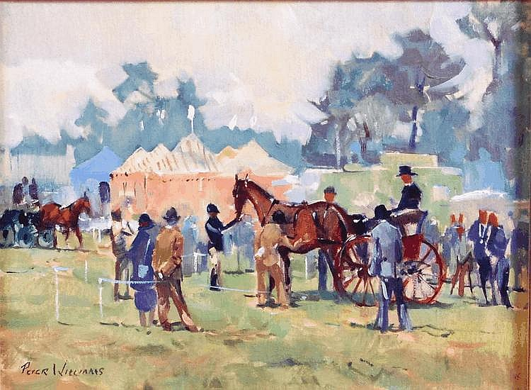 Peter Williams ( b.1934) - The Sandringham Show,