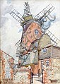 Andrew Archer Gamley (1869-1949) - Cley Mill, Cley, Andrew Archer Gamley, Click for value