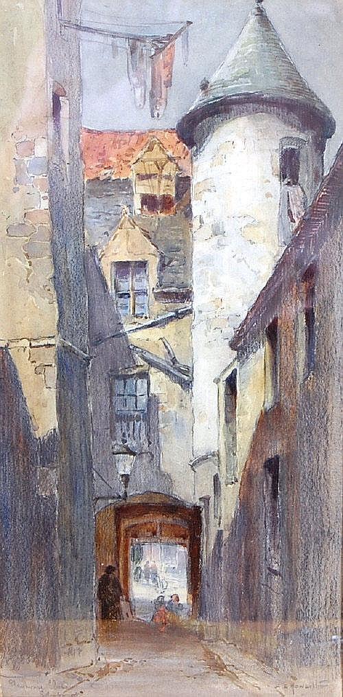 Albany E Howarth (1872-1936) - Playhouse Close,
