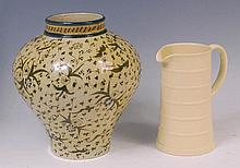 An early 20th century Cantagalli pottery bulbous
