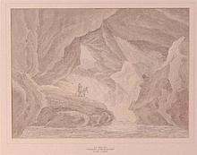 Thomas Sunderland (1744-1823) - Cavern in Glencoe,