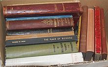 Three boxes of books, booklets and assorted