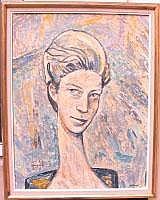 Francisco Alvarez ARIAS (1912-1977) - Portrait de