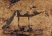 Antoni Camarasa (né en 1957) Renard des sables.