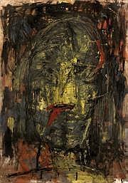 Antoni Camarasa (né en 1957) Portrait. Technique