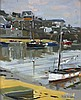 Professor Ken HOWARD (b.1932), Oil on canvas board, Mousehole Harbour Low W, Ken Howard, £3,200