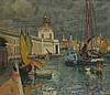 * John Anthony PARK (1880-1962), Oil on canvas, Venice - view of Punta dell, John Anthony Park, £2,800