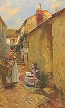 Walter LANGLEY (1852-1922), Watercolour, The Eager