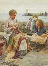 Walter LANGLEY (1852-1922), Watercolour, Nimble fi