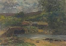 Charles Brooke BRANWHITE (1851-1929), Watercolour,