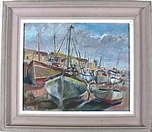* Marjorie MORT (1906-1989), Oil on canvas board,