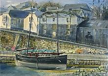 David LANGSWORTHY (b.1942), Oil on board, Ripple N