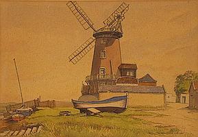Francis Ives NAYLOR (b.1892 - ?) Watercolour