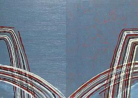 Jesse Leroy SMITH (b. 1966) Oil on canvas Untitled