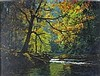 Stephen CUMMINS (b.1943), Acrylic on canvas, 'French Man's Creek, Helford', Inscribed to verso, Signed, 15.5