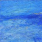 Anthony VINEY, Acrylic on canvas, 'Imagining the Ocean' - abstract, Inscribed, signed & dated 2011 on label to verso, 12