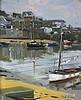 Professor Ken HOWARD (b.1932), Oil on canvas board, Mousehole Harbour Low Water, Circa 2016, Signed, 11.75