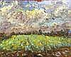Michael STRANG (b. 1942) Oil on canvas Daffodil
