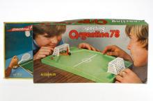 2 Tisch-Spiele Fußball und Tennis