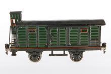 Märklin gedeckter Güterwagen 1929